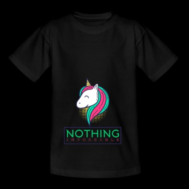 Nothing Impossible Shirt - Unicorn Gift - Kinderen T-shirt