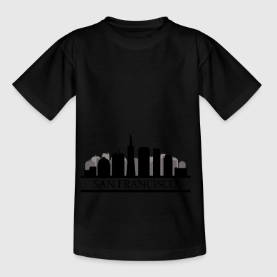 san francisco skyline - Kids' T-Shirt