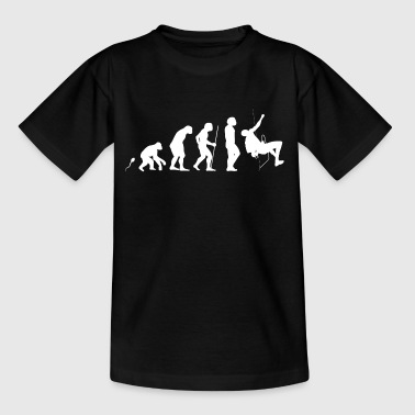 Alpinist Evolution Fun Shirt - Kinder T-Shirt