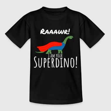 Your Superdino Funny Shirts Kinder Geschenk - Kinder T-Shirt