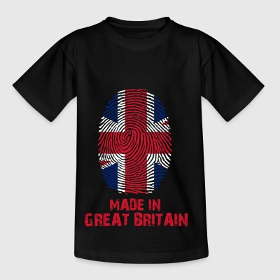 Great Britain flag - Made in Great Britain Gesc - Kids' T-Shirt