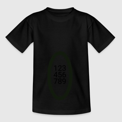 numbers - Kids' T-Shirt