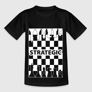 strategie wite - Kinderen T-shirt