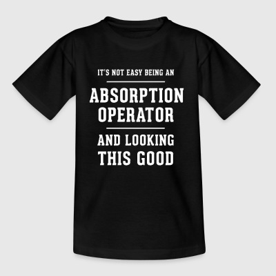 Originelles Geschenk für Absorption Operator - Kinder T-Shirt