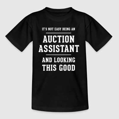 Original present till en auktion Assistant - T-shirt barn