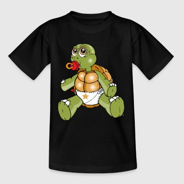 TURTLE pjokk - T-skjorte for barn