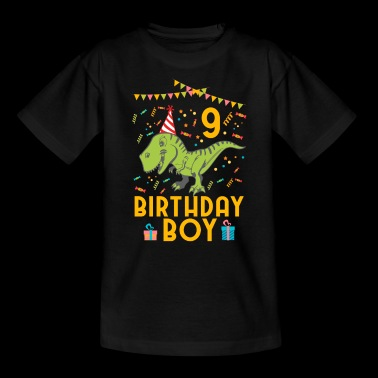 Birthday Boy - 9th birthday - Kids' T-Shirt