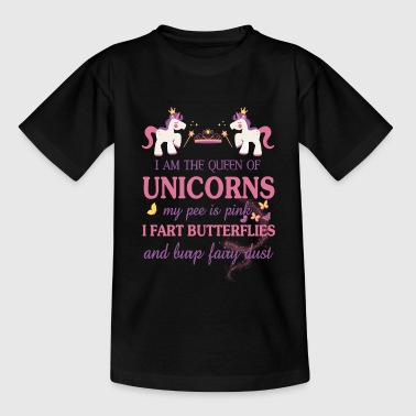 I am the Queen of the unicorns - Kids' T-Shirt