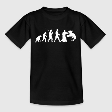 Evolution: Aïkido - Kinder T-Shirt