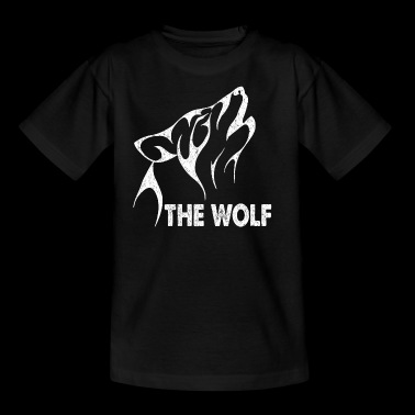 The Wolf. Alpha Dad. Gifts for the whole family - Kids' T-Shirt