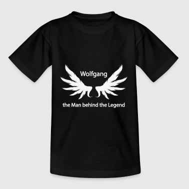 Wolfgang the Man behind the Legend - Kinder T-Shirt