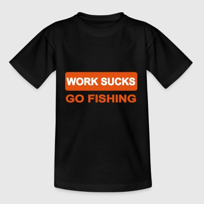 2541614 14064959 fishing - Kids' T-Shirt