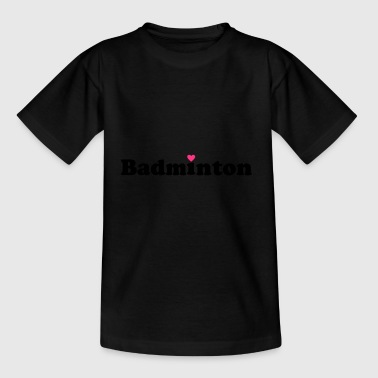 2541614 14185503 badminton - Kinder T-Shirt