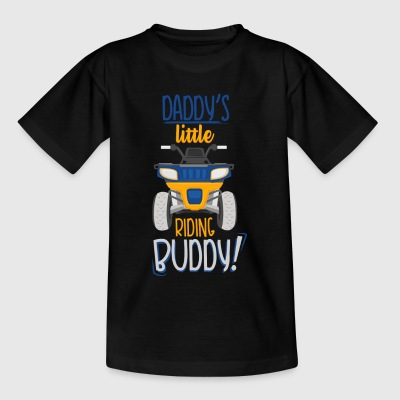 Quad T-Shirt für Kids: Daddy's Little Riding Buddy - Kinder T-Shirt