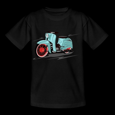 Simson Schwalbe mint, peppermint - Kinder T-Shirt