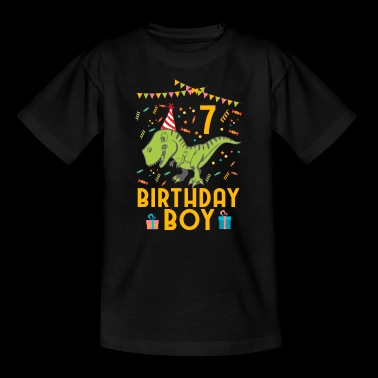 Birthday Boy - 7th birthday - Kids' T-Shirt