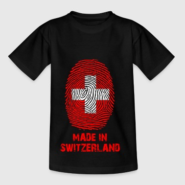 Schweiz Flag - Made in Schweiz - gave - Børne-T-shirt