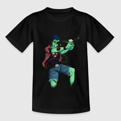 Zombie Andy - Kids' T-Shirt