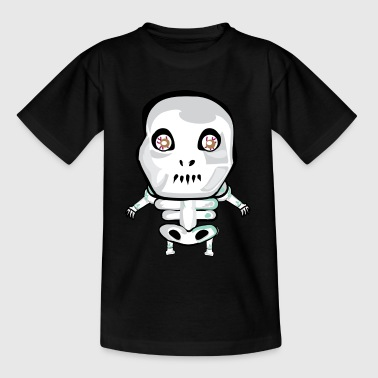 Halloween skelett - T-shirt barn