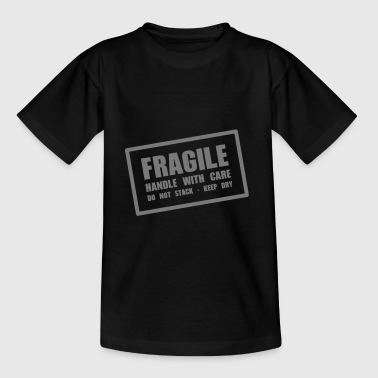 Fragile - T-skjorte for barn