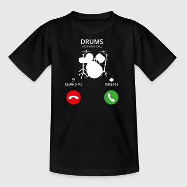 Ring Mobile Call Drummer PERCUSSION trummor - T-shirt barn