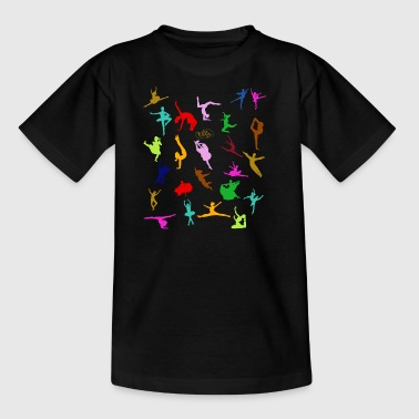COLORFUL SILHOUETTES - Kids' T-Shirt