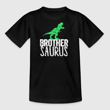 Brother-Saurus Family Dino Dinosaur T-Rex - T-skjorte for barn