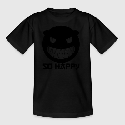 SoHappy blak - Kinder T-Shirt