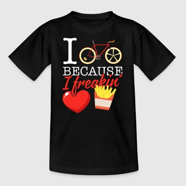 76 i cycle fries - Kinder T-Shirt