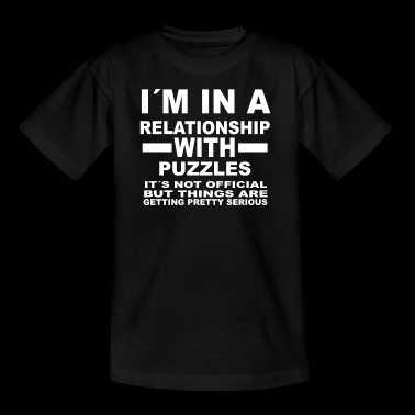 Relationship with PUZZLES - Kids' T-Shirt