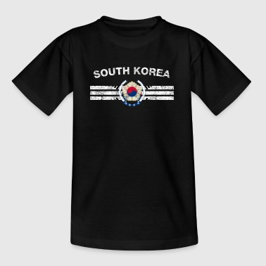 South Korea Flag Shirt - South Korea Emblem & Sout - T-shirt barn