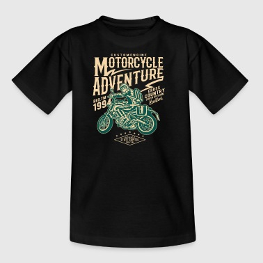 Motorcycle Adventure2 - Kinder T-Shirt