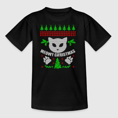Ugly Cat Christmas Christmas Xmas Gift - Kids' T-Shirt