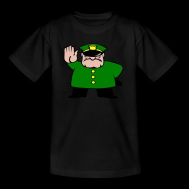 police officer - Kids' T-Shirt
