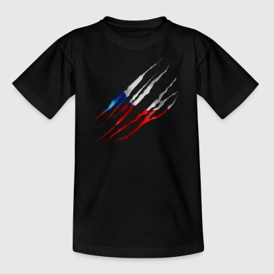 Czech Republic Slit open 001 AllroundDesigns - Kids' T-Shirt