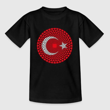 Turkey Türkei Türkiye Love HERZ Mandala - Kinder T-Shirt