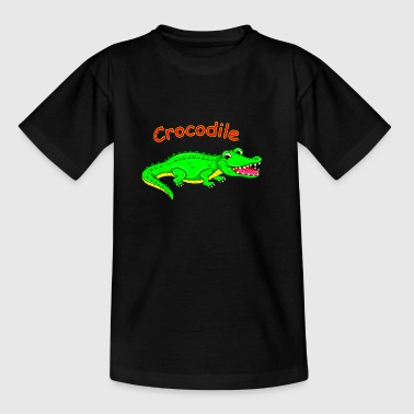 Cute cartoon crocodile - Kids' T-Shirt