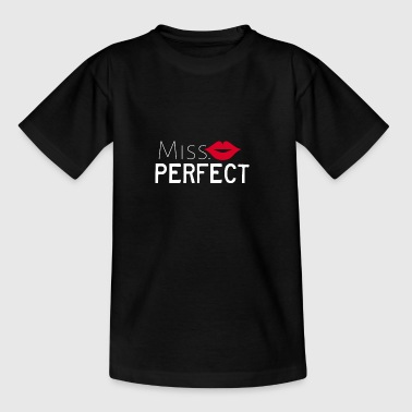 Miss Perfect - Børne-T-shirt