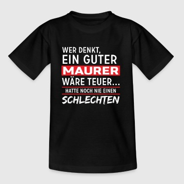 Maurer - Kinder T-Shirt