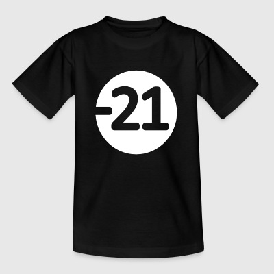 21 wite - Kinder T-Shirt