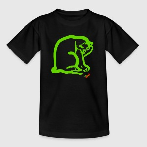 CAT GREEN - Børne-T-shirt