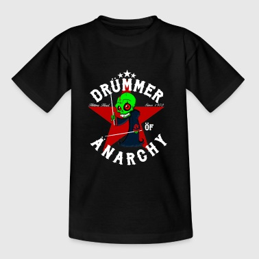 Nsane Drummer - Drümmer OF ANARCHY - blanc - T-shirt Enfant