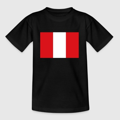 Nationalflagge von Peru - Kinder T-Shirt