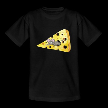 eter Mouse cheese - Kinderen T-shirt