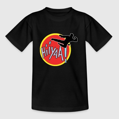 Karate Kid Kung Fu Martial Arts - Kinderen T-shirt