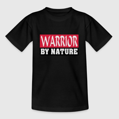 Warrior by Nature - Kinderen T-shirt