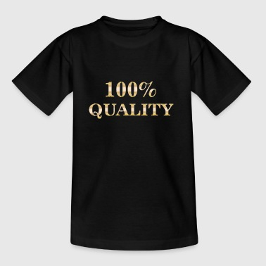 100% kvalitet - T-shirt barn