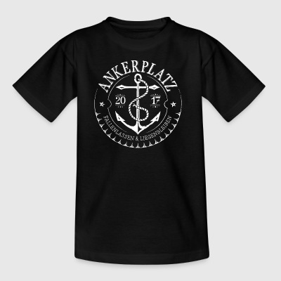 Anchorage wit - Kinderen T-shirt
