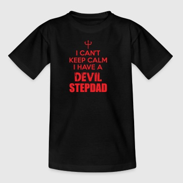 Teuflischer Stiefvater Calm Daddy Pops Dad Poppy - Kinder T-Shirt