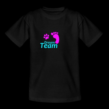 Dream Team rose bleu - T-shirt Enfant